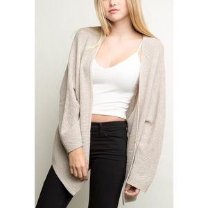 Brandy Melville Sand Colored Sweater!